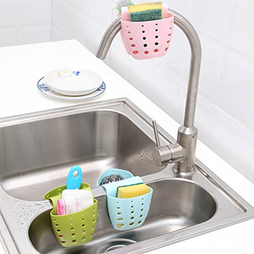 Get Quotations Kitchen Tools Gadgets Portable Hanging Drain Bag Basket Bath Storage Gadget Sink