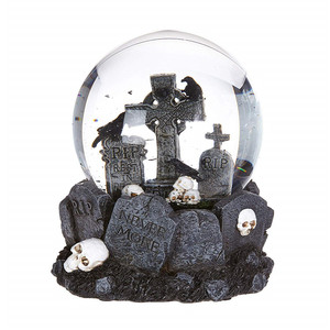 Hot Sale Personalized Handmade Polyresin halloween snow globe