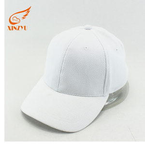 Wholesale Golf Blank Mesh Bulk Plain Led Light White Baseball Cap