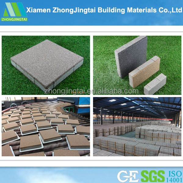China Factory Direct Ceramic Paving Bricks For Sale With High Water-Permeability