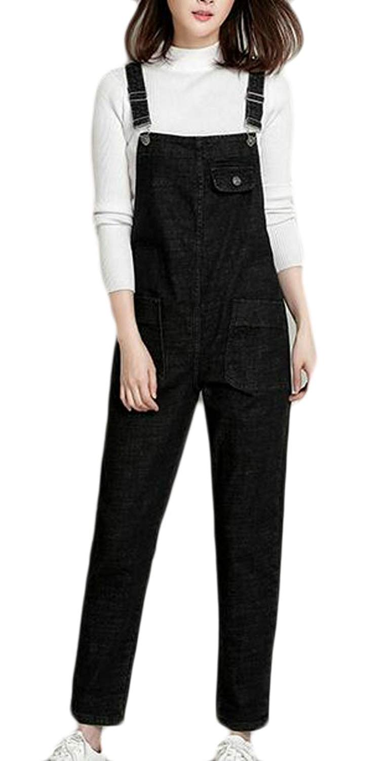 e0a1a408c56 Get Quotations · WSPLYSPJY Women Casual Skinny Strecthy Jeans Romper Denim  Overall