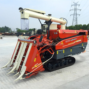 4LB-150 Head feeding Small Combine Harvester with low price