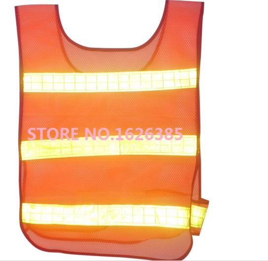 Профессиональное качество видимость безопасности защитная сетка жилет трафика светоотражатель жилет куртка одежда