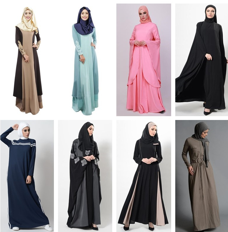 2019 latest design your own  Black Islamic Clothing Women Muslim Dresses Abaya