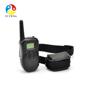 Waterproof Rechargeable LCD Display Static Vibration Control Dog Anti Bark petsmart dog Training Collar