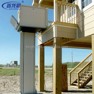 Factory sales home hydraulic wheel chair lift for disabled