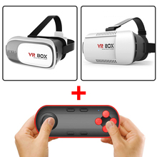 Virtual Reality VR BOX II 2.0 3D Glasses Google Cardboard VR Glasses 3D Headset Video Movie Game For Smart Phone3.5-6 inch