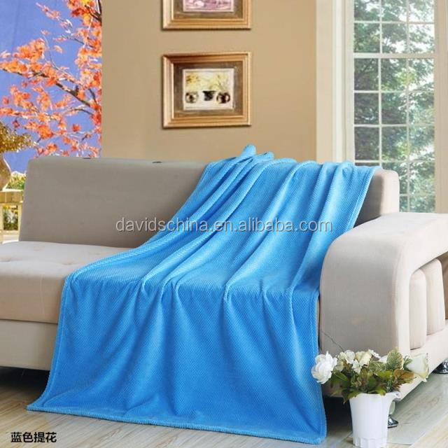 acheter couleur unie flanelle couverture pas cher polaire couverture couverture de voyage id de. Black Bedroom Furniture Sets. Home Design Ideas
