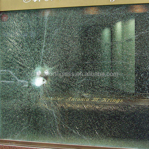 Bullet Resistant Frosted Glass
