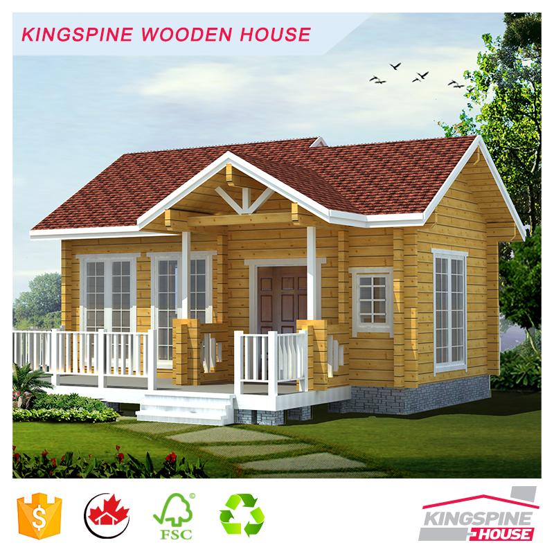 Nuevo dise o log cottage prefabricada casa de madera chino f brica orientada a la exportaci n - Fabrica de casas de madera ...