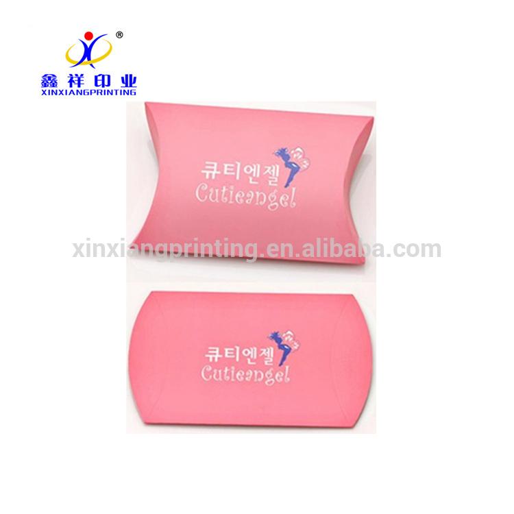 Schöne maßgeschneiderte Kissenbezug Soap Packaging Paper Boxes