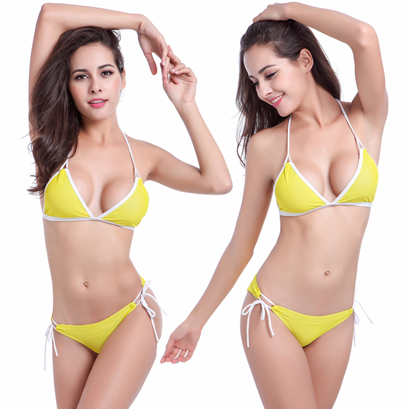OEM Fashion Latest Ladies Sexy Bikinis Woman Swimwear 2 Piece Swimsuit Bikini 2018