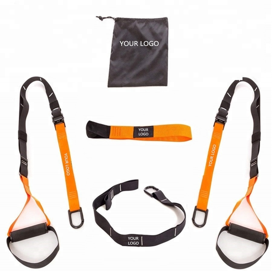 Wellshow Sport BodyWeight Resistance trainer Hot Sale New Fitness Product Home Gym TRXI Suspension Sling Trainer фото