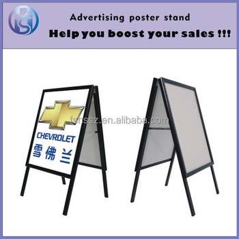 folding poster inserted a board display sign board stand h3 buy