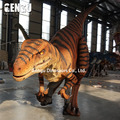 Amusement park high emulation walking with dinosaur costume