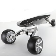 Electric Skateboard 4 Wheels 250W motorized skateboard with Wireless Bluetooth Remote Control for adults