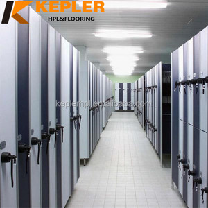 Kepler modern 1 tier 2tier HPL compact laminate safe luggage locker for spa gym swimming pool