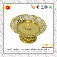 elegant dry fruit tray & metal plastic cake plate with cover
