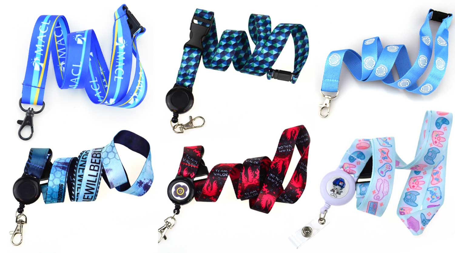 Cheap promotion custom plastic fashion lanyard id card badge holder attachment