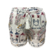New Fashion 100% Rayon Women Ladies Casual Fancy Summer Short Pants Straight White Color Floral Print Shorts with Lace