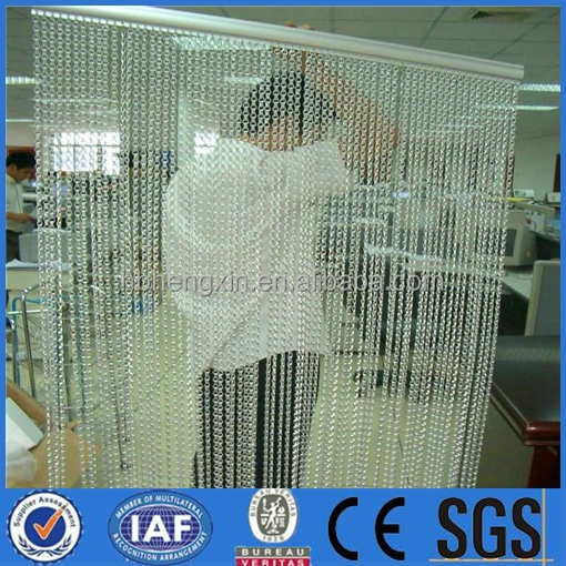 High Quality Brass Decorative Wire Mesh/ Metal bead curtain