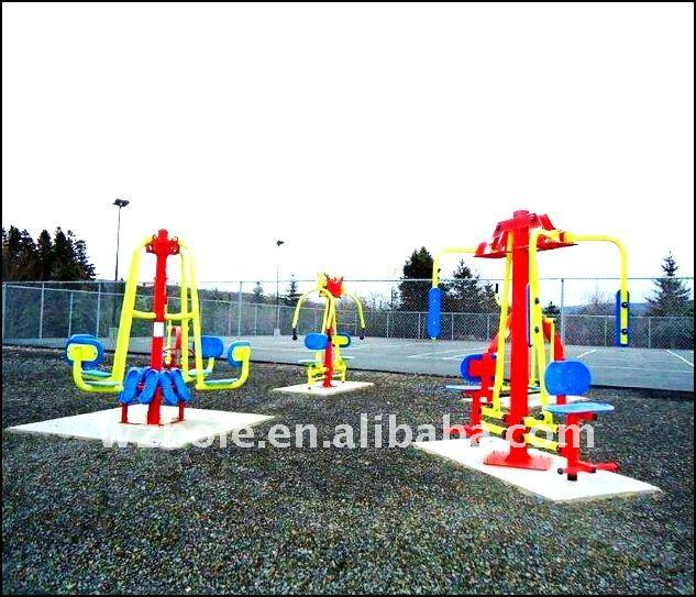 Park Outside Fitness Equipment