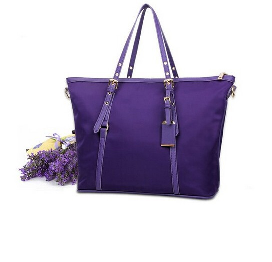 TB0260 2016 Best Selling Fashion Durable Purple Tote Bag