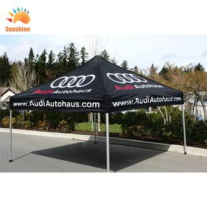 Promotion good quality china supplier commercial folding awnings 3x3m large portable gazebo tent