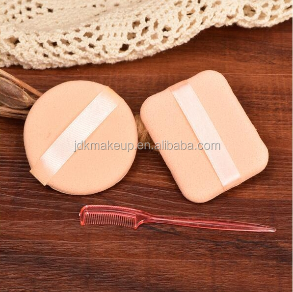 Custom Logo Compact Powder Puff for Face Makeup