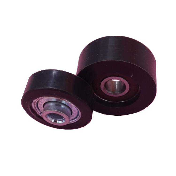 Rubber coated motorcycle bearings 6319 stainless steel ball bearing