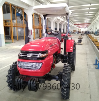 2019 weituo brand 40HP 4WD TY404 farm tractor price