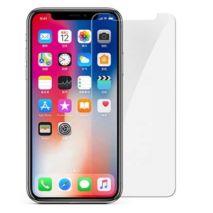 For iPhone XS 10 Tempered Glass Screen Protector 9H 2.5D 0.33mm Transparent High Quality Screen Protector