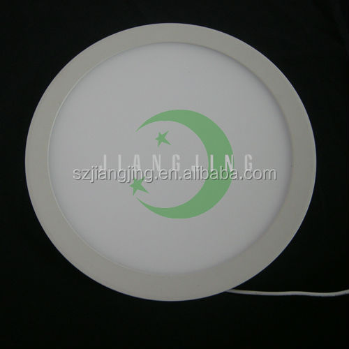 85v-265v ac 6w round led panel light 4 inch cutout skd factory price