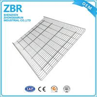 Cheap metal tooling wire mesh decking f rib inverted panel racking corrugated steel deck