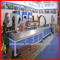 PP,PE,PVC wood plastic composite wpc profile extrusion machine