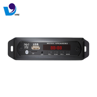 Wireless Bluetooth Mp3 Player Decoder Board Tf Card Usb Fm Remote Digital Display MP3 Module