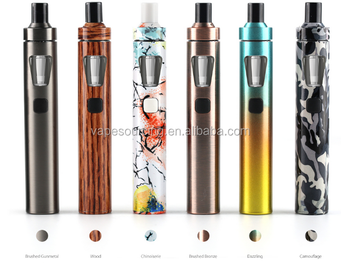 Alibaba express China 2017 Fast Shipping 1500mAh Joyetech ego aio new colors vape electronic cigarette
