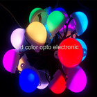 Rgb Color Led Rgbled High Quality 8mm Apa102 Apa104 2801 2811 RGB 50pcs String IP68 DC5V Full Color LED Pixel With Factory Price