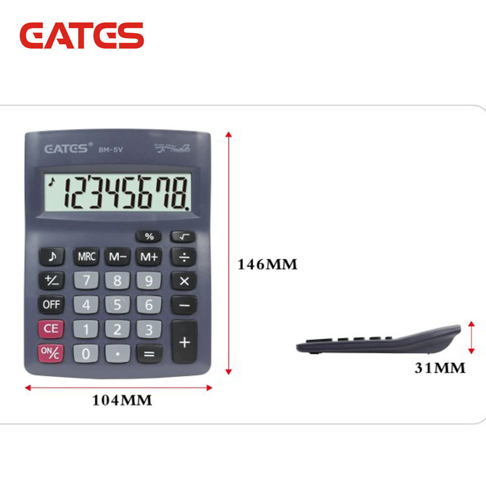 Calculators Portable Home Calculator Pocket Electronic Calculating Office Schoolcalculator To Assure Years Of Trouble-Free Service