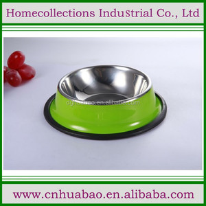 Pet Cuisine Stainless Steel Bowls Dog feeding dish size S