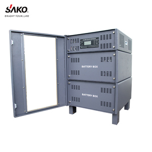 SAKO Hot Selling Pure sine wave AC&DC Portable Solar Power System,3000W 48VDC with 60A MPPT controller for home used