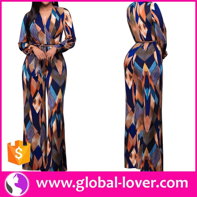 Alibaba.com / Wholesale ladies sexy one piece wide leg jumpsuits women harem jumpsuit