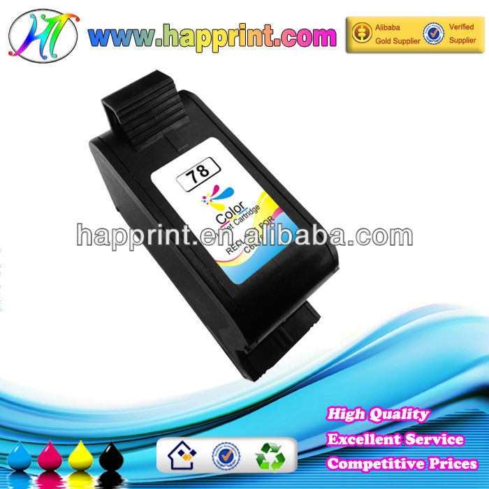 Factory supply for hp 6578d ink cartridge with one year guarantee and 100% pre-tested
