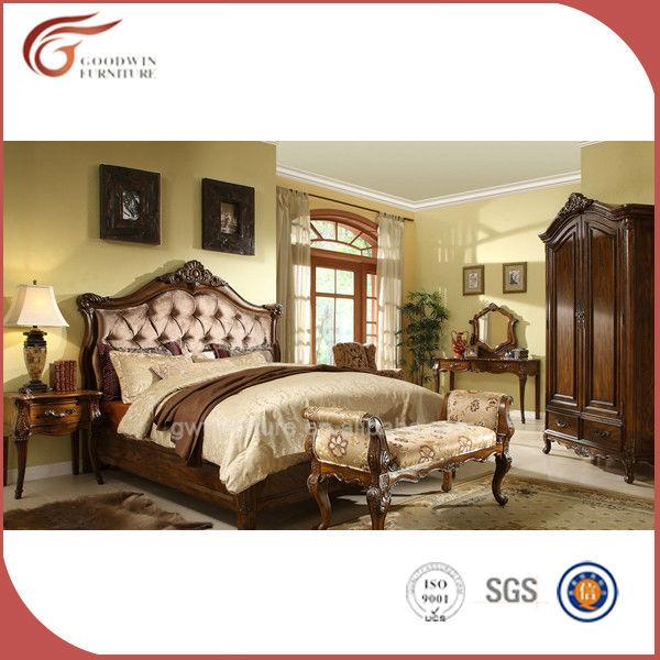 Italie luxe royal antique meubles de chambre à coucher, King size ...