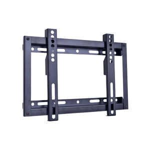 "Vesa 200x100 ultra slim lcd led pdp fix tv wall mount for 15"" - 32"" screens with profile 30mm up to 50kg load weight"
