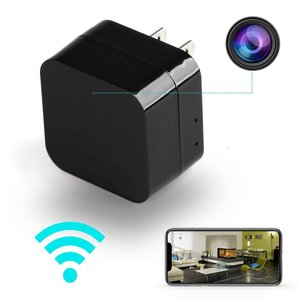 Hidden Spy Camera 1080P HD USB Wall Charger Spy Camera Adapter WiFi Motion Detection