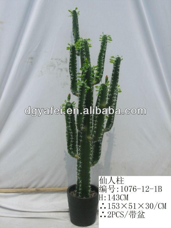Cactus artificial al por mayor arboles artificiales for Cactus enanos por mayor