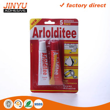 Instant dry Adhesive Epoxy power glue in aluminum tube