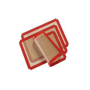 baking supply wholesale non stick microwavable silicon baking mat eco-friend