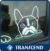 Excellent quality removable static cling sticker decal